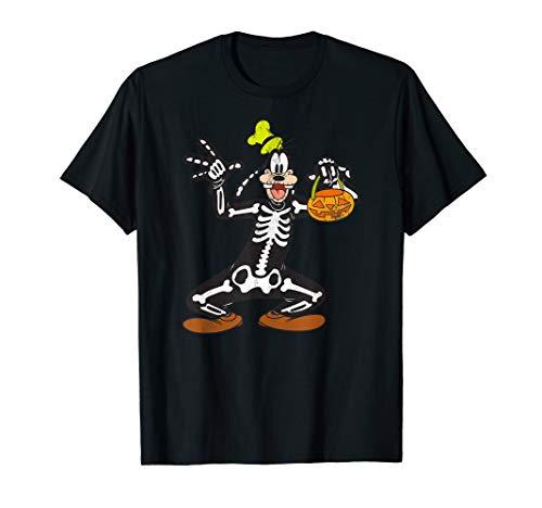 Disney Halloween Tee Shirts (Disney Goofy Skeleton Halloween)