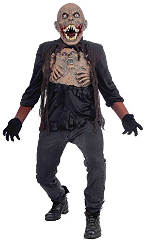 Vicious Mutant Adult Costumes (Forum Novelties Men's Vicious Mutant Adult Costume, Multi, One Size)