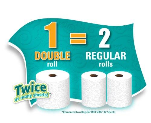 030400773778 - Angel Soft Toilet Paper, Bath Tissue, 12 Double Rolls carousel main 3