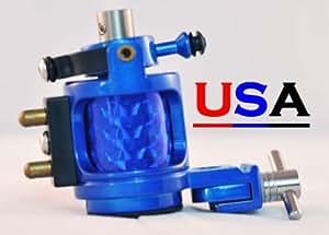 Blue hybrid hammer rotary tattoo machine w for Rotary tattoo machine amazon