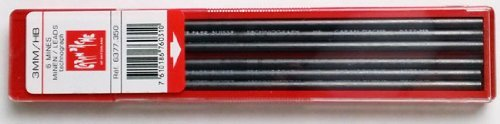 Caran D'ache Refills Technograph 3mm HB Pencil Leads, 6 per Pack (6377.350 )