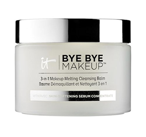 IT Cosmetics Bye Bye Makeup 3-in-1 Makeup Melting Cleansing Balm, 2.82 oz (80 g)