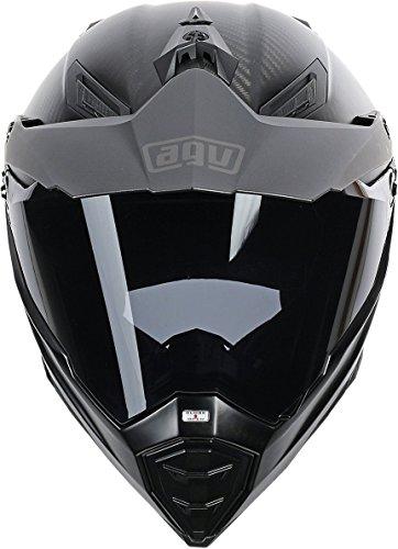 AGV AX-8 Dual Sport Evo Helmet (Matte Carbon, XXX-Large) by AGV (Image #1)