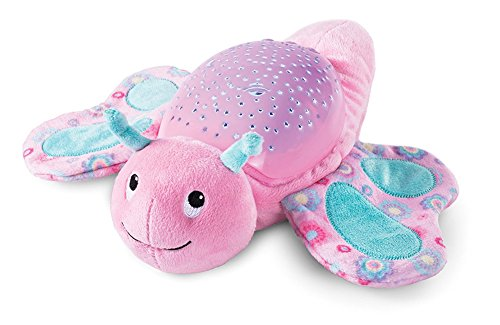 Sleep Aid Night Light & Shusher Sound Machine & Baby Gift, LED Star Projector & Portable Soother Stuffed Animal Comfort Plush Toy, Infant Slumber Buddies Projection and Melodies (Butterfly) by THATISHE