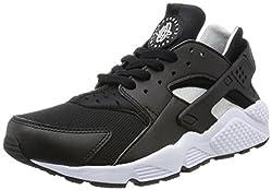 Nike Men's Air Huarache Blackflt Silver White Running Shoe 8.5 Men Us