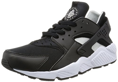 Nike air Huarache Mens Running Trainers 318429 Sneakers Shoes (US 11, Black Flat Silver White 029)