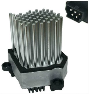 NEW HEATER BLOWER FAN FINAL STAGE RESISTOR HEDGEHOG 64116920365: