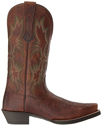 Ariat Heren Dress Tombstone Western Cowboylaars, Barn Brown, 7 D Us Barn Brown