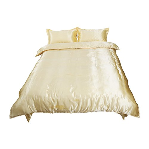 uxcell Golden Bedding Pillow Comforter product image