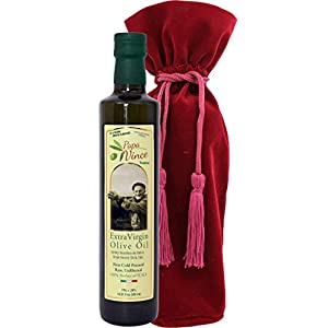Gut Health Shop 41nE-iQhZVL._SS300_ Papa Vince olive oil gourmet gift high polyphenol premium harvest Dec 2019/20 first cold pressed family-made Sicily…