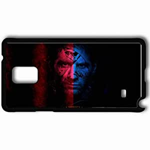 Personalized Samsung Note 4 Cell phone Case/Cover Skin Lionel Messi 2013 Case Image 4714 Black
