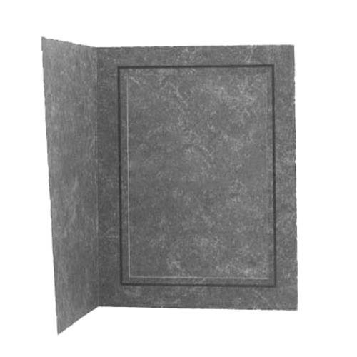 Tap Picture Folder Frame, Black Marble with Inner Gold Border, for a 4x6'' Photo (Box Of 100)