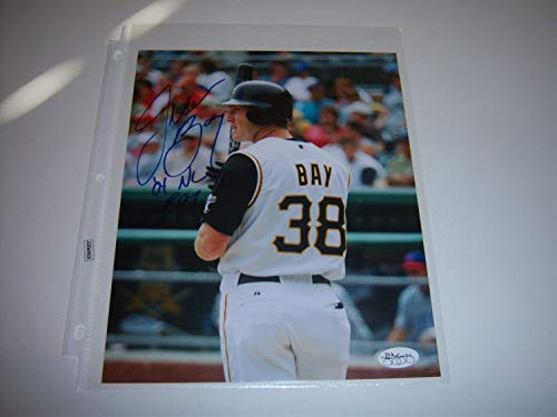 Jason Bay Autographed Signed Pittsburgh Pirates O4 Nl Roy JSA/holo 8x10 Photo