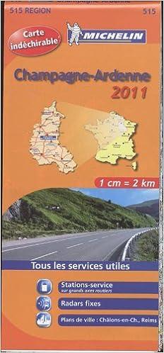 Livre Champagne-Ardenne : 1/200 000 pdf