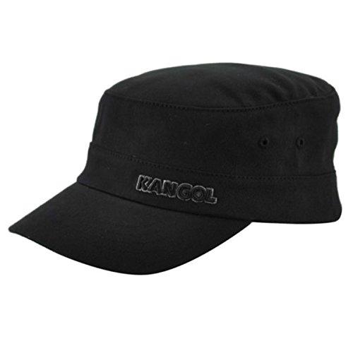 Kangol Men's Twill Army Cap, Black, Small/Medium - Army Twill
