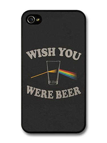 Wish You Were Beer Pink Floyd Funny Quote coque pour iPhone 4 4S