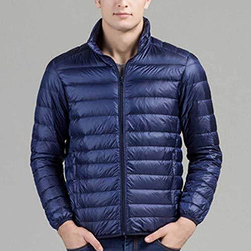 Degli Navy Leggero Blu Caldo Cx Cappotto Giù Packable Imbottito Giubbotto Uomini Inverno store ZwwPv1