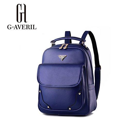 G-AVERIL GA1061-C - Bolso mochila  para mujer azul marino Large azul marino