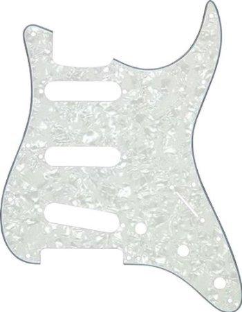 【 並行輸入品 】 ProLine US Strat-Style 2-Ply ピックガード White Pearl   B00JEFEZP8