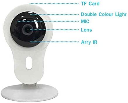 Cámara de Vigilancia inalámbrica,Fácil de configurar,1,0 ...