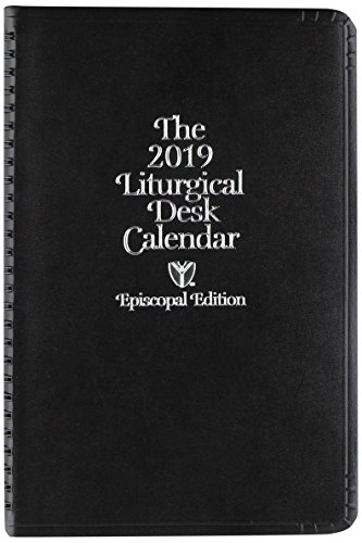- Episcopal Liturgical Desk Calendar 2019