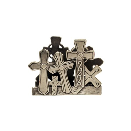 GiftsOGifts Crosses Business Card Holder ()