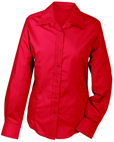 Red Blouse amp; Rouge NICHOLSON Sleeved JAMES Long Femme Ladies w87XWdPx