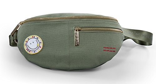 Peace Love World Belt Bag Waist Packs PLW203 Basil (Basil) by Peace Love World