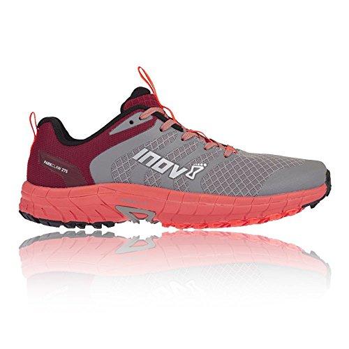Inov8 Parkclaw 275 Womens Running Shoes Grey Coral