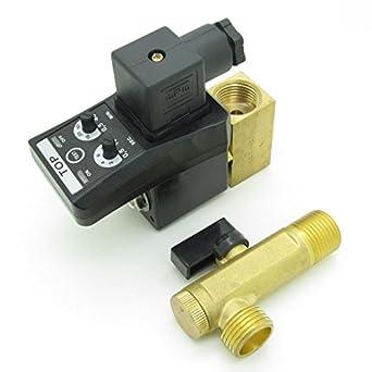 """BQLZR AC110 V 1/2 """"Electronic programado Compresor De Aire automático de 2"""