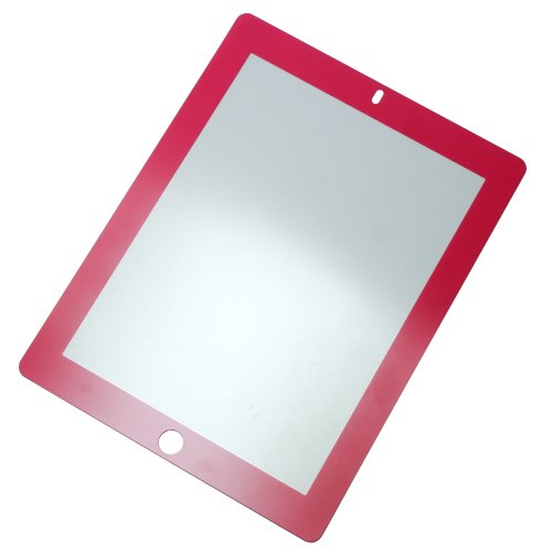 Rolling Ave. Bubee Bubble-Free Screen Protector for iPad 2 and iPad 3 - Magenta/Hot Pink - Worth Stores Ave