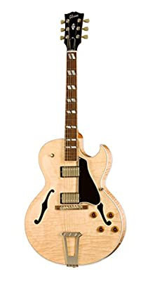 Gibson Memphis ES7D14VNNH1 1959 ES-175 Historic Hollow-Body Electric Guitar, Vintage Natural