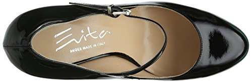 Evita Shoes - Pumps geschlossen, Scarpe col tacco classiche donna, color Nero (Schwarz), talla 42 EU (8 Damen UK)