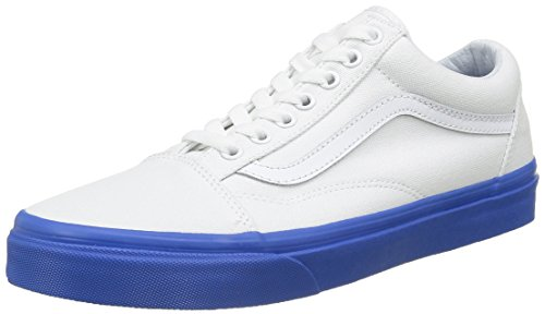 Vans Old Skool, Zapatillas Unisex Adulto Azul (Mlx)