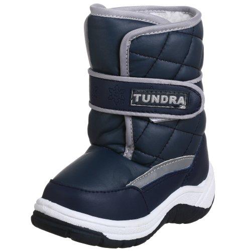 Tundra Snow Kids Boot (Toddler/Little Kid),Navy,8 M US Toddler