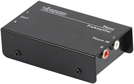 Vivanco PA115 - Adaptador para tocadiscos, negro: Amazon.es ...