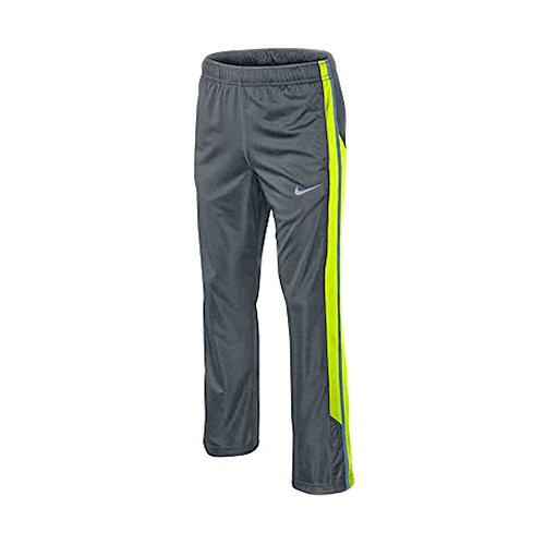 Nike Dri-Fit Big Boys Lights Out Training Pants Dark Magnet Grey/ Volt Size Medium