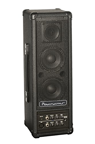powerwerks 40 watt rms personal pa system battery powered bluetooth capability sono. Black Bedroom Furniture Sets. Home Design Ideas