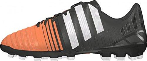 adidas Bota Jr Nitrocharge 3.0 TRX AG Black-White-Flash orange Negro