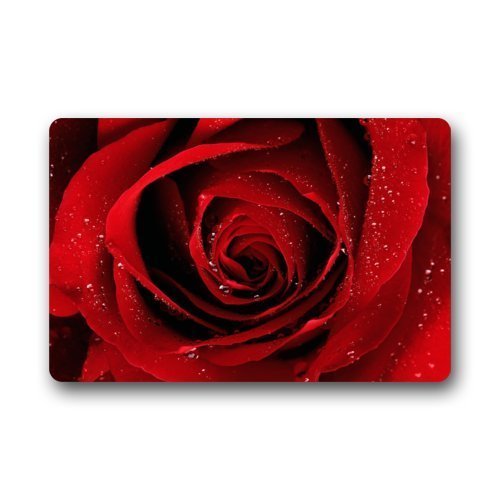 Fashion Decorative Door Mat Rug Red Rose - Flower Floor Mat Shopping Results