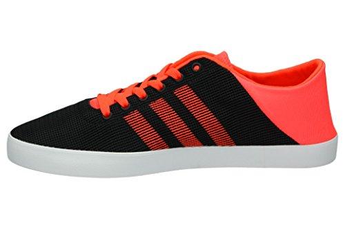 Adidas Vs Easy Vulc Sea, Scarpe da Ginnastica Uomo, Nero (Negbas/Rojsol/Ftwbla), 45 EU