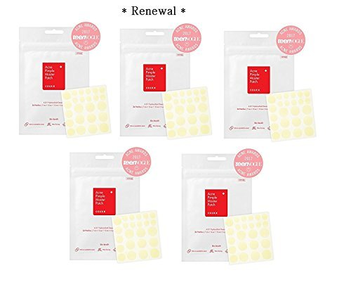 Cosrx JbTVaS Acne Pimple Master Patch, 24 Count (5 Pack)