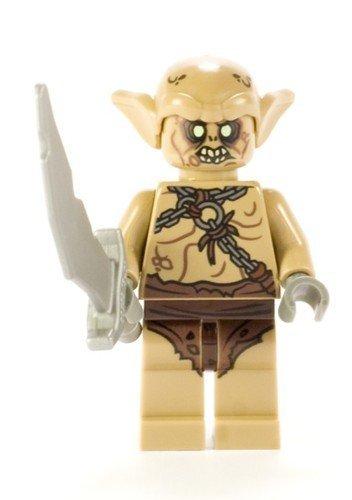 Lego Hobbit Goblin Soldier Minifigure (Lego Minifigure Goblin)