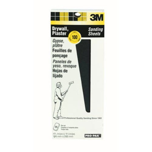 3M 99430 Drywall Sanding Sheet 25 Per Pack 120C Grit 4-1//5 by 11-1//4-Inch