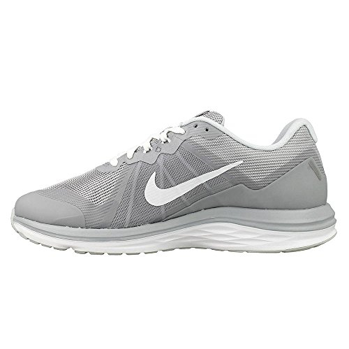 Nike Nieuwe Dames Dual Fusion X 2 Loopschoen Grijs / Wit 5 D (m) Ons