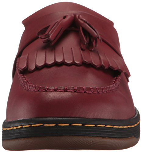 Dr. Martens Mens Edison Loafer Slip-on Rosso Ciliegia