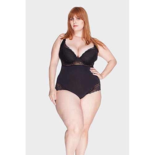 Body Renda Plus Size Preto-48