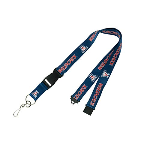 - PSG, NCAA Arizona Wildcats LanyardLanyard Breakaway with Key Ring, Team Colors, One Size