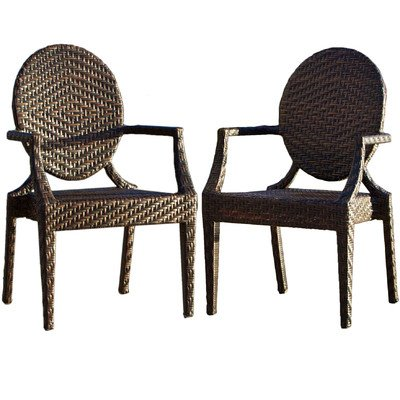 Butterfly Collection Rocking Chair - Adriana Outdoor Arm Chair (Set of 2)