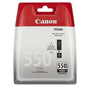 Canon Original - Canon Pixma MX 920 series (PGI-550 PGBK/6496 B 004) - cartucho de tinta negro - 300 páginas - 15 ml